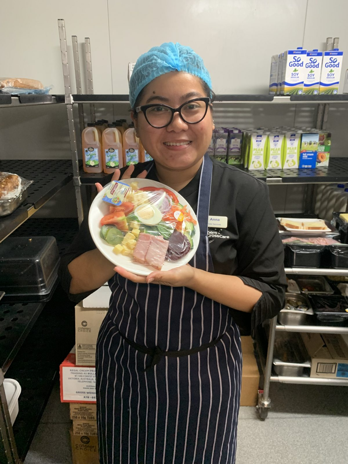 Annabelle Gilo, Food Service Assistant, The Pines Lodge Residential Care